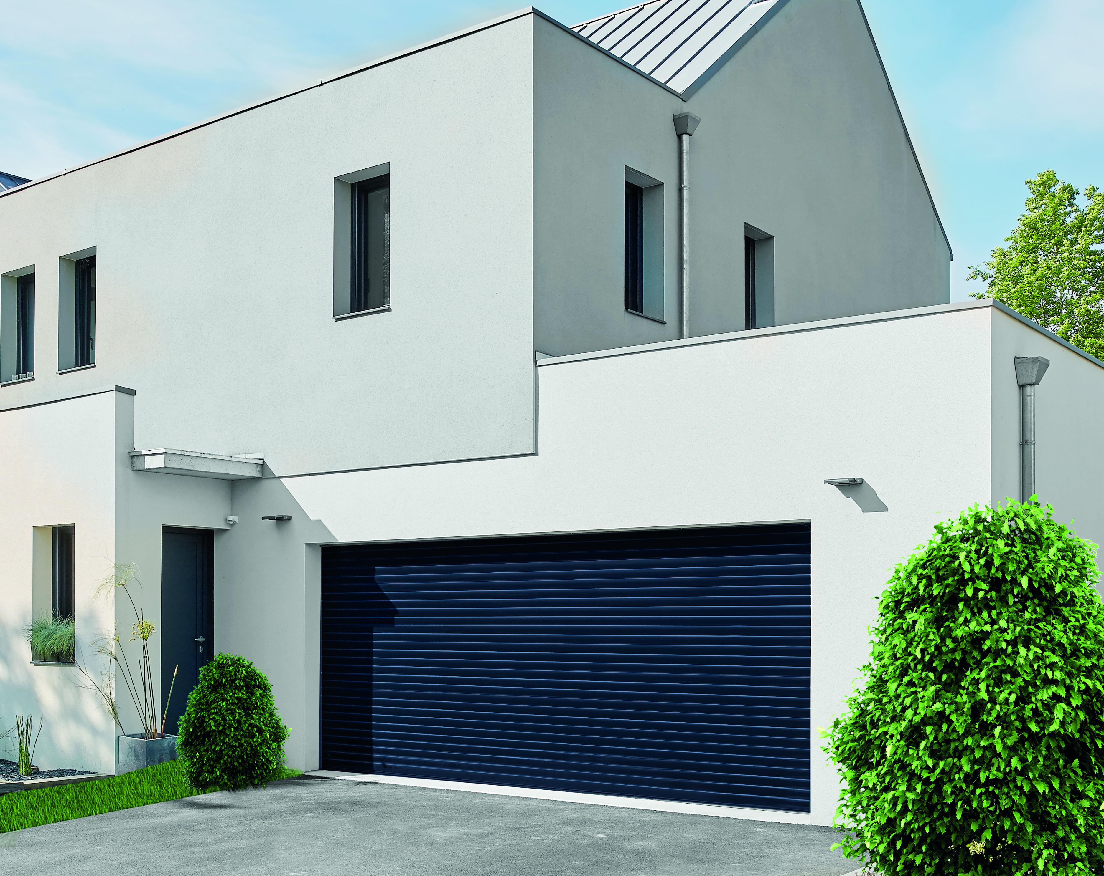 bau 2017 novorol komfortables garagen rolltor auch f r. Black Bedroom Furniture Sets. Home Design Ideas