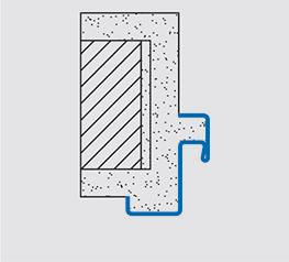 Unterschied eckzarge umfassungszarge  Stahlzargen für Mauer- und Ständerwerk | Zargen von Novoferm