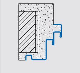 Stahleckzarge  Stahlzargen für Mauer- und Ständerwerk | Zargen von Novoferm