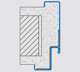 Stahlzarge dwg  Stahlzargen für Mauer- und Ständerwerk | Zargen von Novoferm