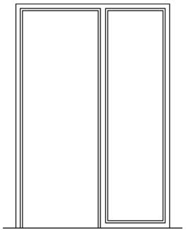 Stahlzarge  Stahlzargen für Mauer- und Ständerwerk | Zargen von Novoferm