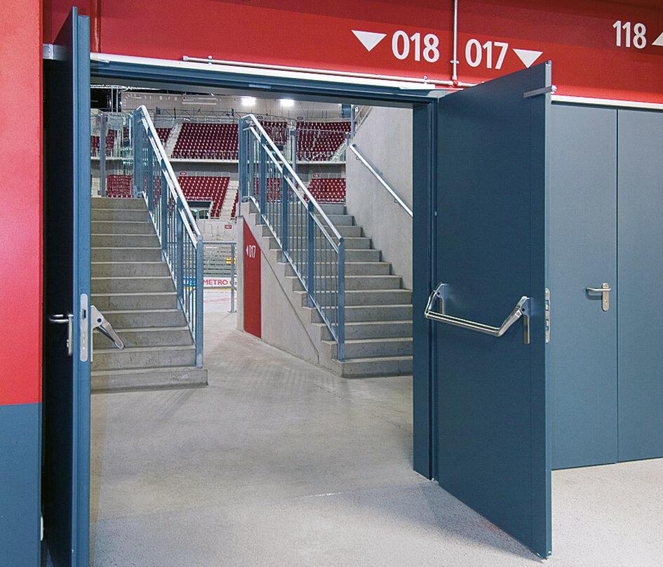 Feuerschutztür zweiflügelig