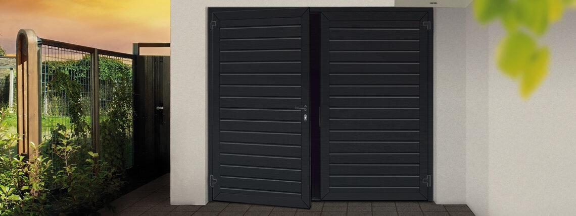 Garagen-Drehflügeltor
