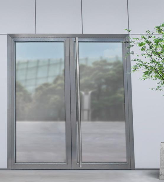 rohrrahment ren aus glas und metall novoferm. Black Bedroom Furniture Sets. Home Design Ideas